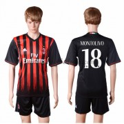 Series A Voetbalshirts AC Milan 2016-17 Montolivo 18 Thuisshirt..
