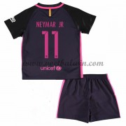 Barcelona Voetbaltenue Kind 2016-17 Neymar Jr 11 Uitshirt..