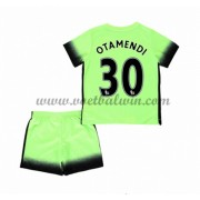 Manchester City Voetbaltenue Kind 2016-17 Otamendi 30 Third Shirt..
