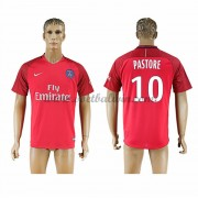 Ligue 1 Voetbalshirts Paris Saint Germain Psg 2016-17 Pastore 27 Uitshirt..