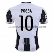Series A Voetbalshirts Juventus 2016-17 Pogba 10 Thuisshirt..