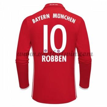 Bundesliga Voetbalshirts Bayern Munich 2016-17 Robben 10 Thuisshirt Lange Mouw