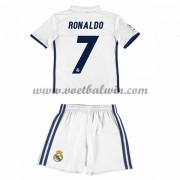 Real Madrid Voetbaltenue Kind 2016-17 Ronaldo 7 Thuisshirt..