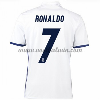 La Liga Voetbalshirts Real Madrid 2016-17 Ronaldo 7 Thuisshirt