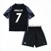 Real Madrid Voetbaltenue Kind 2016-17 Ronaldo 7 Third Shirt..