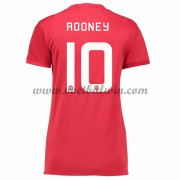 Manchester United Dames Voetbalshirts 2016-17 Rooney 10 Thuisshirt..