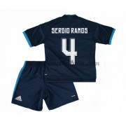 Real Madrid Voetbaltenue Kind 2016-17 Sergio Ramos 4 Third Shirt..