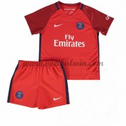 Paris Saint Germain PSG Voetbaltenue Kind 2016-17 Uitshirt..