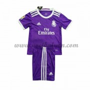 Real Madrid Voetbaltenue Kind 2016-17 Uitshirt..