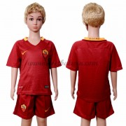 AS Roma Voetbaltenue Kind 2016-17 Thuisshirt..