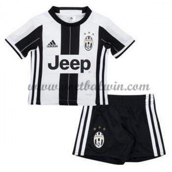 Juventus Voetbaltenue Kind 2016-17 Thuisshirt