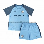 Manchester City Voetbaltenue Kind 2016-17 Thuisshirt..