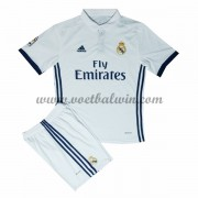 Real Madrid Voetbaltenue Kind 2016-17 Thuisshirt..
