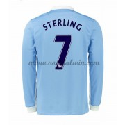 Premier League Voetbalshirts Manchester City 2016-17 Sterling 7 Thuisshirt Lange Mouw..