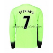 Premier League Voetbalshirts Manchester City 2016-17 Sterling 7 Third Shirt Lange Mouw..