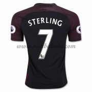 Premier League Voetbalshirts Manchester City 2016-17 Sterling 7 Uitshirt..
