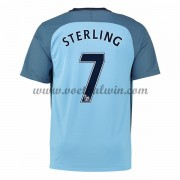 Premier League Voetbalshirts Manchester City 2016-17 Sterling 7 Thuisshirt..