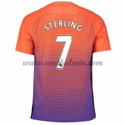 Premier League Voetbalshirts Manchester City 2016-17 Sterling 7 Third Shirt..