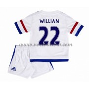 Chelsea Voetbaltenue Kind 2016-17 Willian 22 Uitshirt..