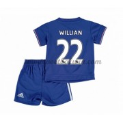 Chelsea Voetbaltenue Kind 2016-17 Willian 22 Thuisshirt..