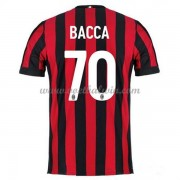 Series A Voetbalshirts AC Milan 2017-18 Bacca 70 Thuisshirt..