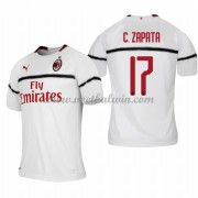 Serie A Voetbalshirts AC Milan 2018-19 Cristian Zapata 17 Uitshirt..