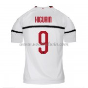 Serie A Voetbalshirts AC Milan 2018-19 Gonzalo Higuain 9 Uitshirt..