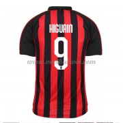Serie A Voetbalshirts AC Milan 2018-19 Gonzalo Higuain 9 Thuisshirt..