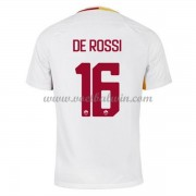 Series A Voetbalshirts AS Roma 2017-18 De Rossi 16 Uitshirt..