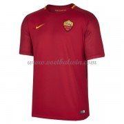 Series A Voetbalshirts AS Roma 2017-18 Thuisshirt..