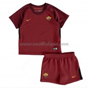 AS Roma Voetbaltenue Kind 2017-18 Thuisshirt..
