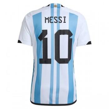Goedkope Voetbaltenues Argentinië Elftal WK 2018 Lionel Messi 10 Thuisshirt
