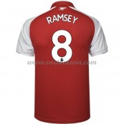 Premier League Voetbalshirts Arsenal 2017-18 Aaron Ramsey 8 Thuisshirt..