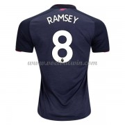 Premier League Voetbalshirts Arsenal 2017-18 Aaron Ramsey 8 Third Shirt..