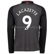 Premier League Voetbalshirts Arsenal 2017-18 Alexandre Lacazette 9 Third Shirt Lange Mouw..