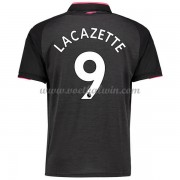 Premier League Voetbalshirts Arsenal 2017-18 Alexandre Lacazette 9 Third Shirt..