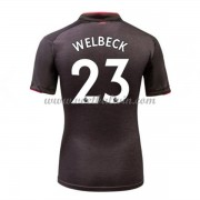 Premier League Voetbalshirts Arsenal 2017-18 Daniel Welbeck 23 Third Shirt..