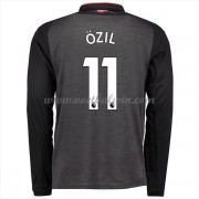 Premier League Voetbalshirts Arsenal 2017-18 Mesut Ozil 11 Third Shirt Lange Mouw..