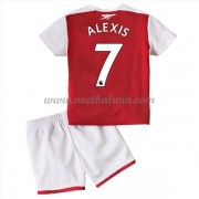 Arsenal Voetbaltenue Kind 2017-18 Alexis Sanchez 7 Thuisshirt..