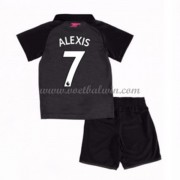 Arsenal Voetbaltenue Kind 2017-18 Alexis Sanchez 7 Third Shirt..