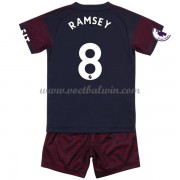 Arsenal Voetbaltenue Kind 2018-19 Aaron Ramsey 8 Uitshirt..