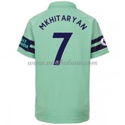 Arsenal Voetbaltenue Kind 2018-19 Henrikh Mkhitaryan 7 Third Shirt..