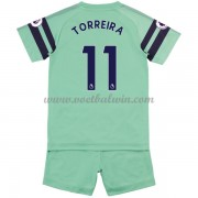 Arsenal Voetbaltenue Kind 2018-19 Lucas Torreira 11 Third Shirt..