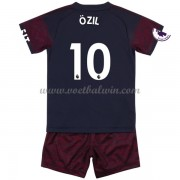 Arsenal Voetbaltenue Kind 2018-19 Mesut Ozil 10 Uitshirt..