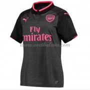 Arsenal Dames Voetbalshirts 2017-18 Third Shirt..