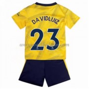 Arsenal Voetbaltenue Kind 2019-20 David Luiz 23 Uitshirt..