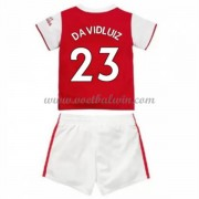 Arsenal Voetbaltenue Kind 2019-20 David Luiz 23 Thuisshirt..