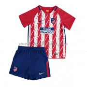 Atletico Madrid Voetbaltenue Kind 2017-18 Thuisshirt..