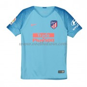 Atletico Madrid Voetbaltenue Kind 2018-19 Uitshirt..