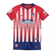 Atletico Madrid Voetbaltenue Kind 2018-19 Thuisshirt..